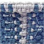 Rows 2 - 8