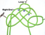 Weave Through Loop 1