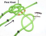 Weave Through First Knot