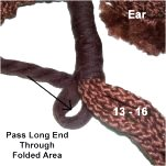 Folded Area