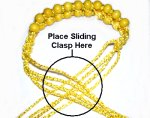 Area for Sliding Clasp