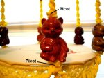 Ceramic Bear Beads