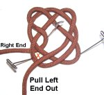 Pull Left End Out