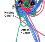 Holding cord 11