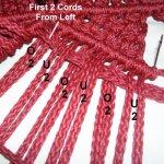 Weaving Row 1