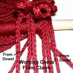 Cords Over Dowel