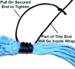 Pull End With Knot