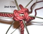 Second Knot Above Wire