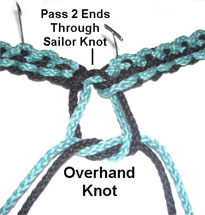 How to Tie a Sailor Knot Friendship Bracelet with Only One