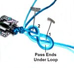Pass Ends Under Loop 1
