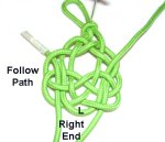Right End Follows Left Path