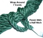 Wrap + Half Hitch