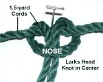 Larks Head Knot