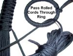 Pass Cords Through Ring