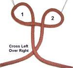 Cross Left Over Right