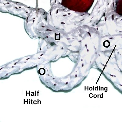 two half hitches knot instructions